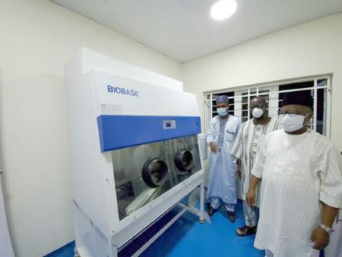 Bauchi commissions molecular lab for COVID 19 3