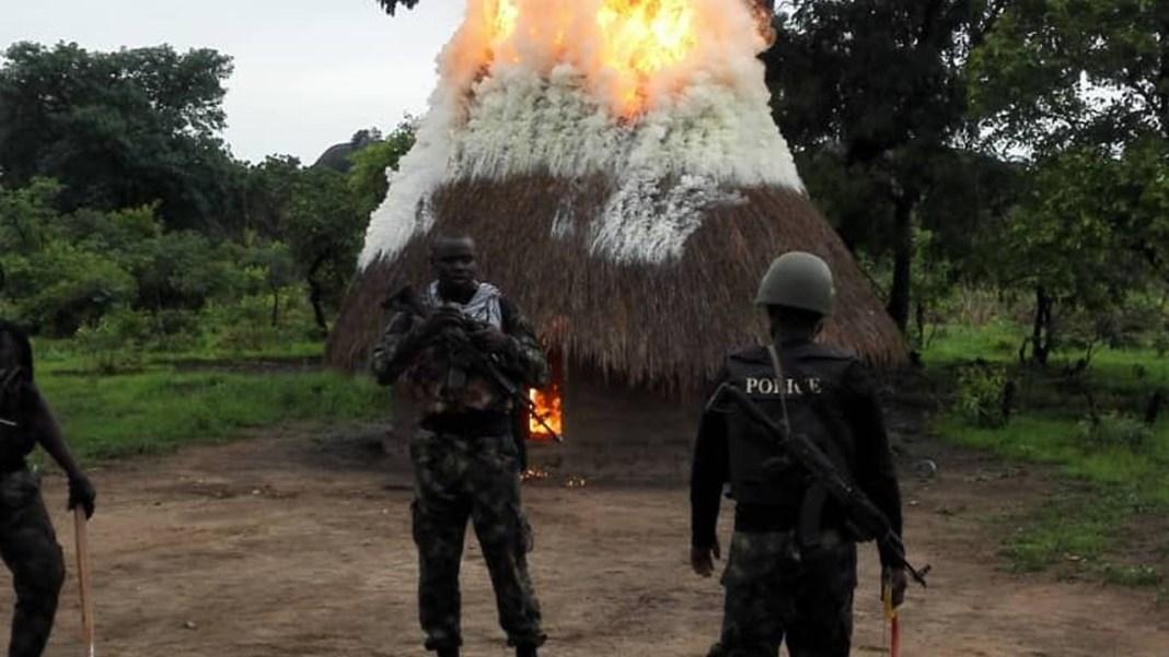 Troops eliminate armed militia, arrest kidnap kingpin in Taraba, Benue 3