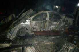 Fire Destroys 8 Vehicles, 10 Shops At Bayelsa Mechanic Village 1