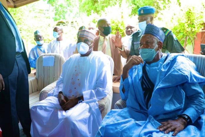 Tinubu, El-Rufai, Ganduje, others attend Atiku and Ribadu's children's wedding (photos) 3