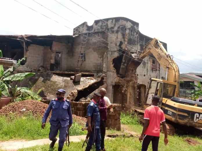 Demolition: Anambra vows to sack Physical Planning staff over financial inducement 1