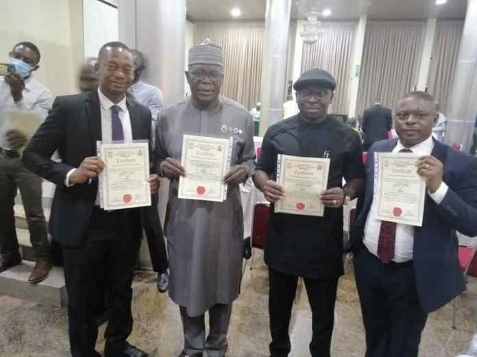 CMAC, NAUTH Dr Ugboaja Joe bags management fellowship  awards 1