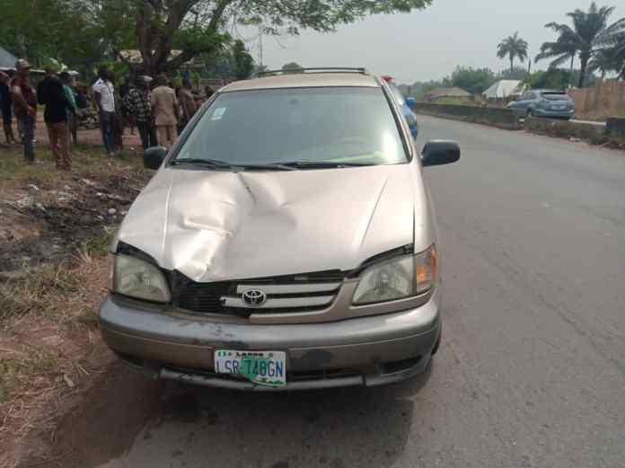 Speeding driver losses control, kills child in Anambra 1