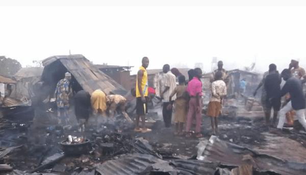 Fire razes trailer park in Oyo 3