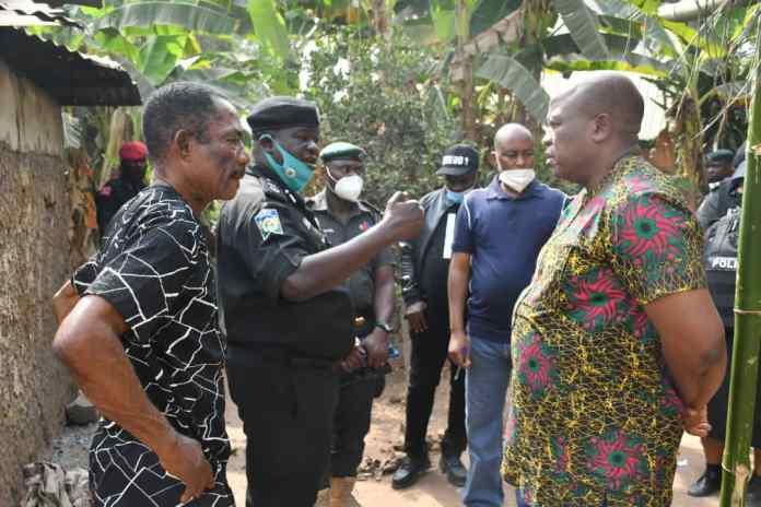 Enugu deploys armoured tank as community goes up in flames…25 houses burnt 1