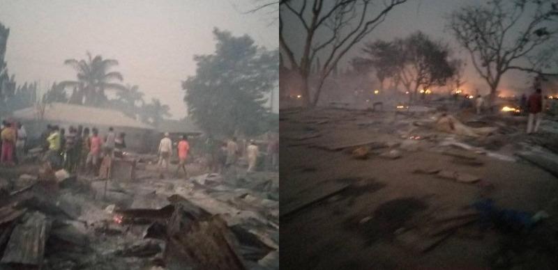 Six killed, many injured as Abuja market guts fire 3