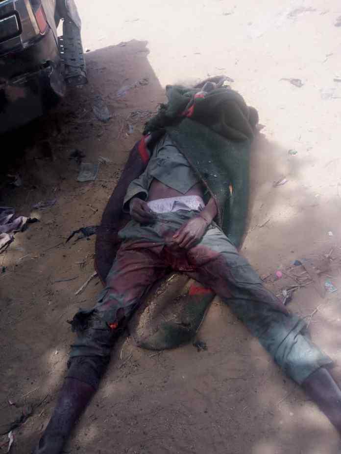Troops neutralise 21 Bokoharam/ISWAP terrorists, recover gun trucks, assorted weapons 1