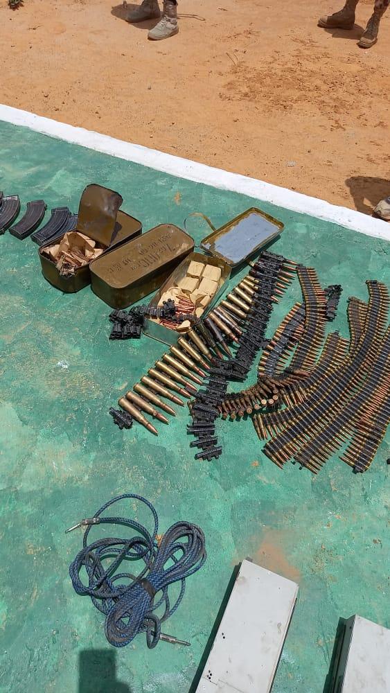 Troops neutralise 21 Bokoharam/ISWAP terrorists, recover gun trucks, assorted weapons 2