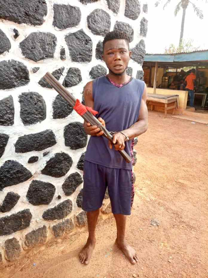 Kidnapper neutralized in Enugu, others arrested, arms and ammunition recovered 1
