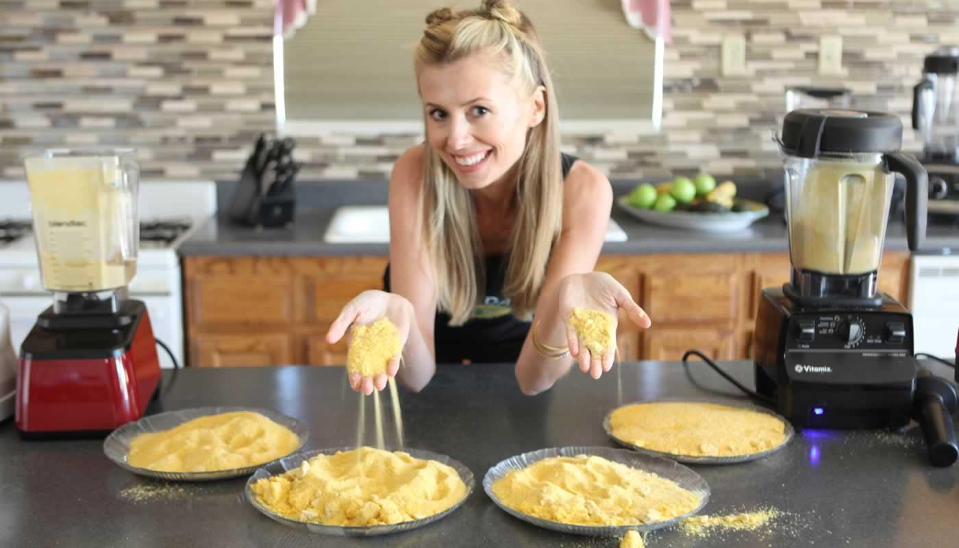 blendtec kitchen mill black tables best grain omega vs vitamix pasternak making flour flours grind grains