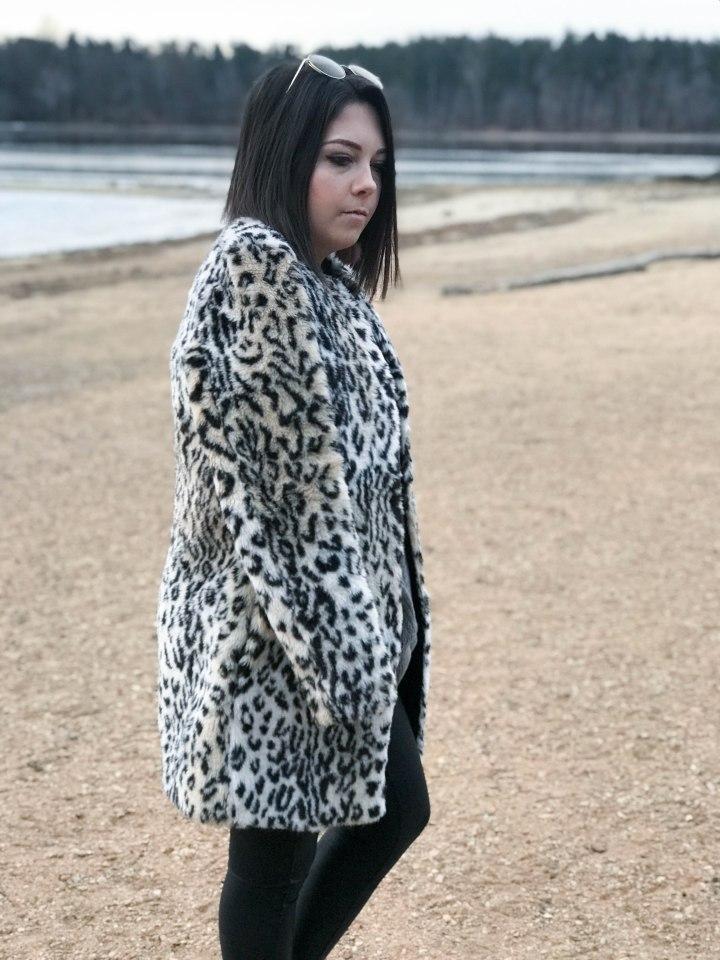 leopoard print coat 9