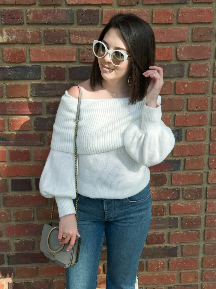 sequin flare jeans 2