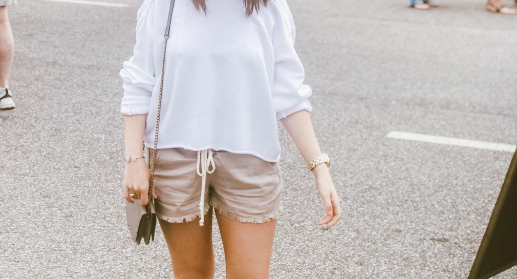 perfect breezy summer outfit
