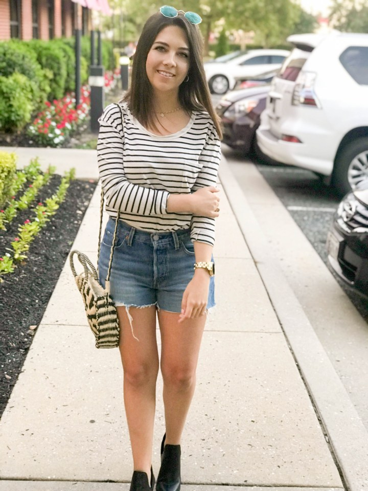 Striped Tee and Booties 4