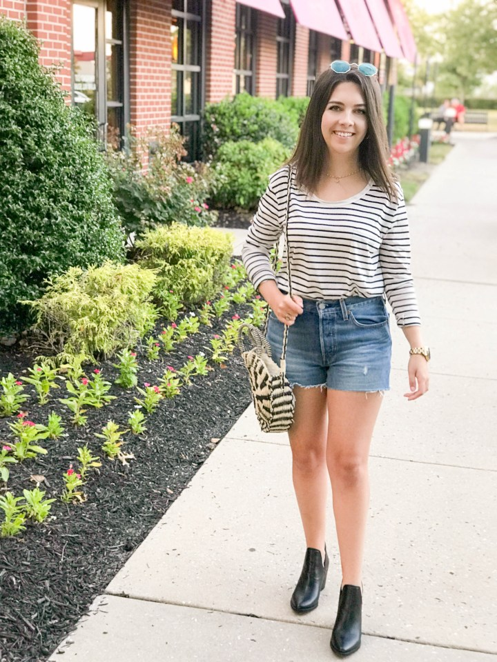 Striped Tee and Booties 8