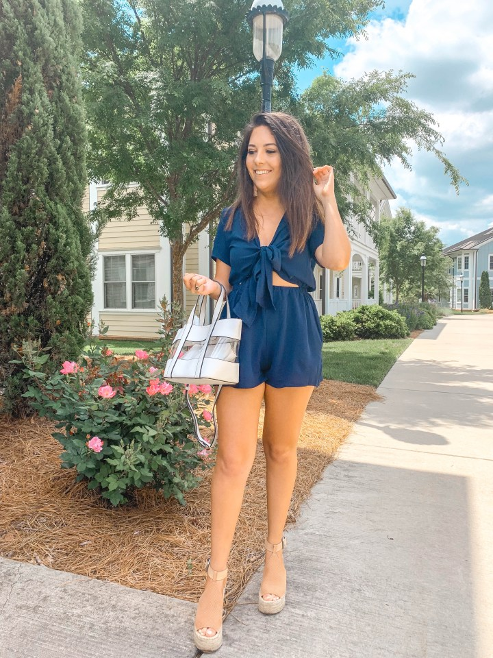 Under $25 Romper Perfect for Memorial Day Weekend