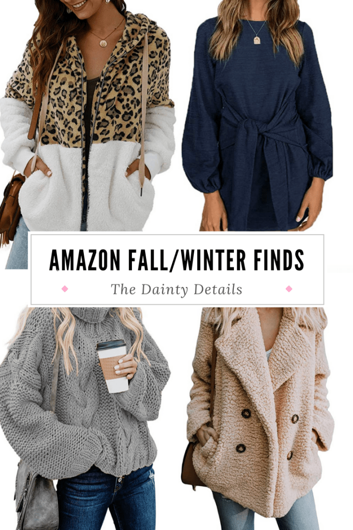 40 Fall/Winter Amazon Finds