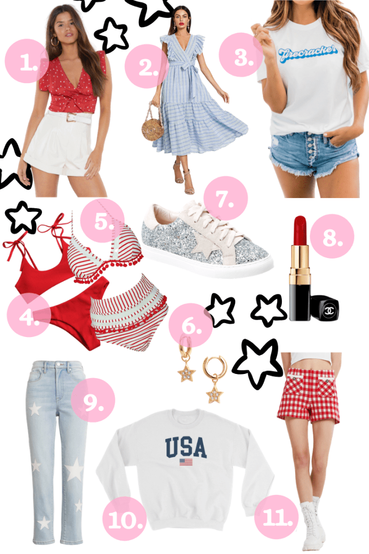 July 4th Outfit Inspo to Shop Now!