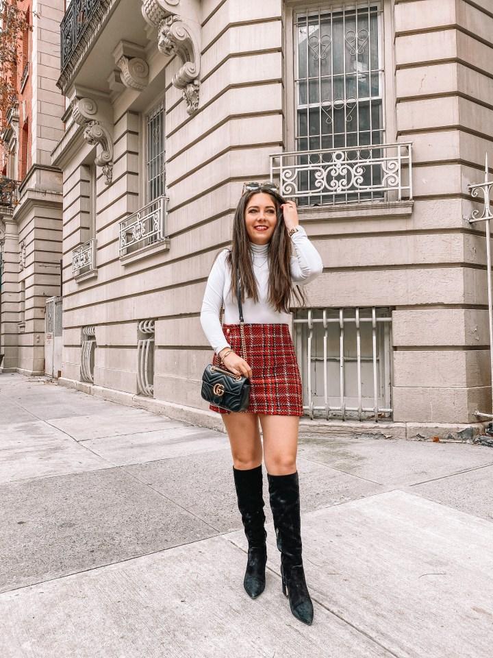 festive skirt