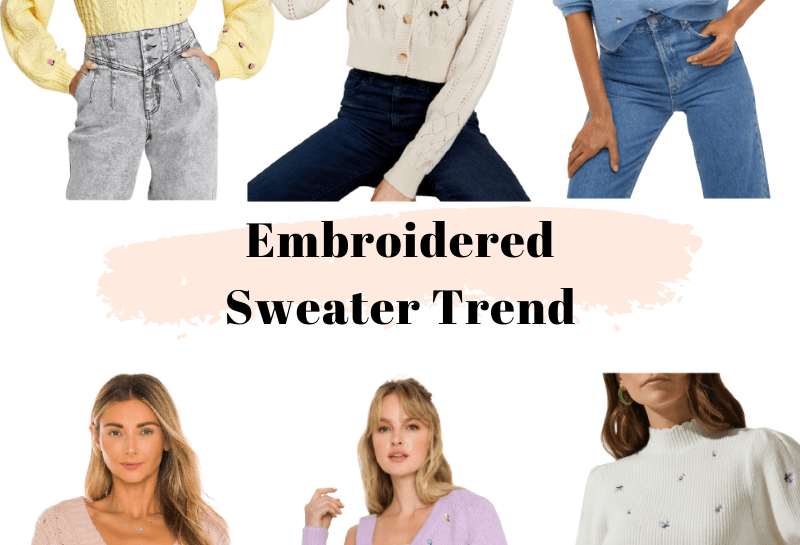 spring sweater trend