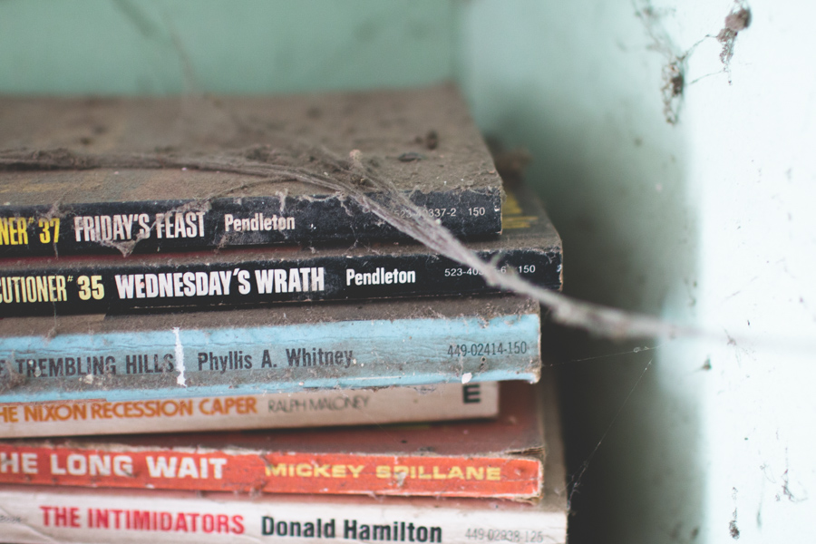 abandoned books,