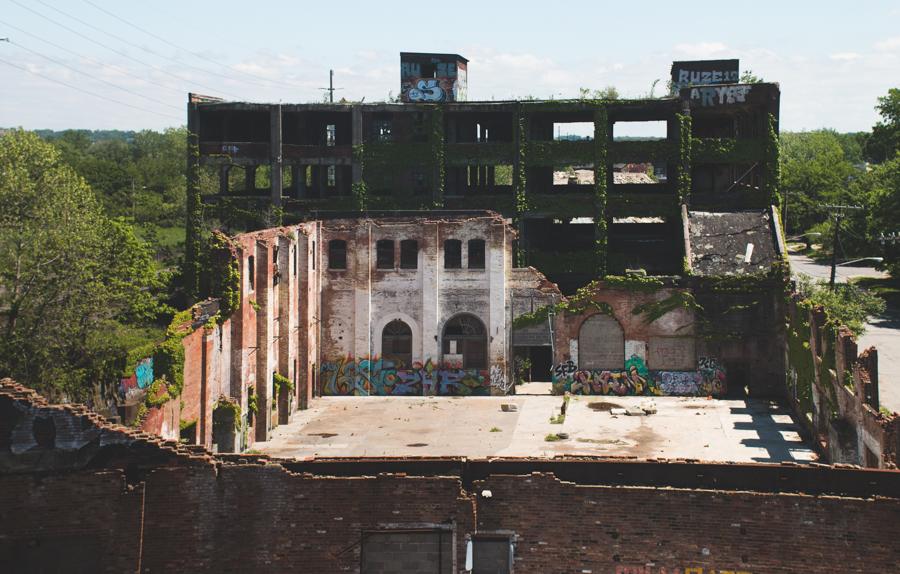 abandoned cleveland, abandoned factory