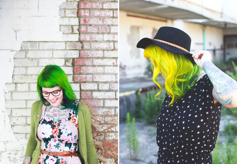 the dainty squid, hair, kaylah doolan, hair care, products for colored hair