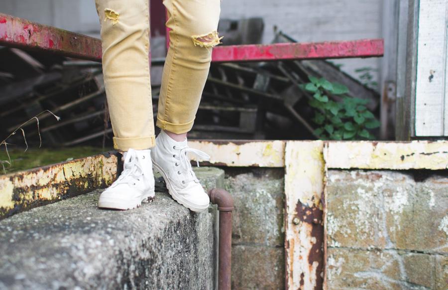 fashion blog, palladium, pampa hi, daintysquid