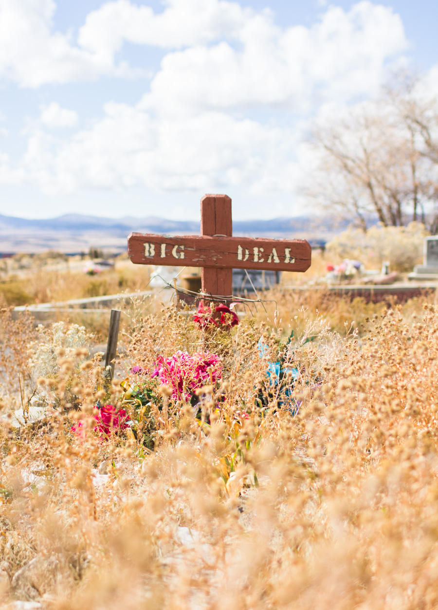 eureka cemetery, utah, unique headstone