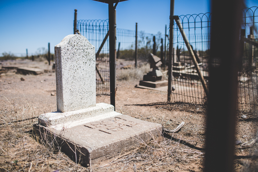 ghost town cemetery, Steins Cemetery