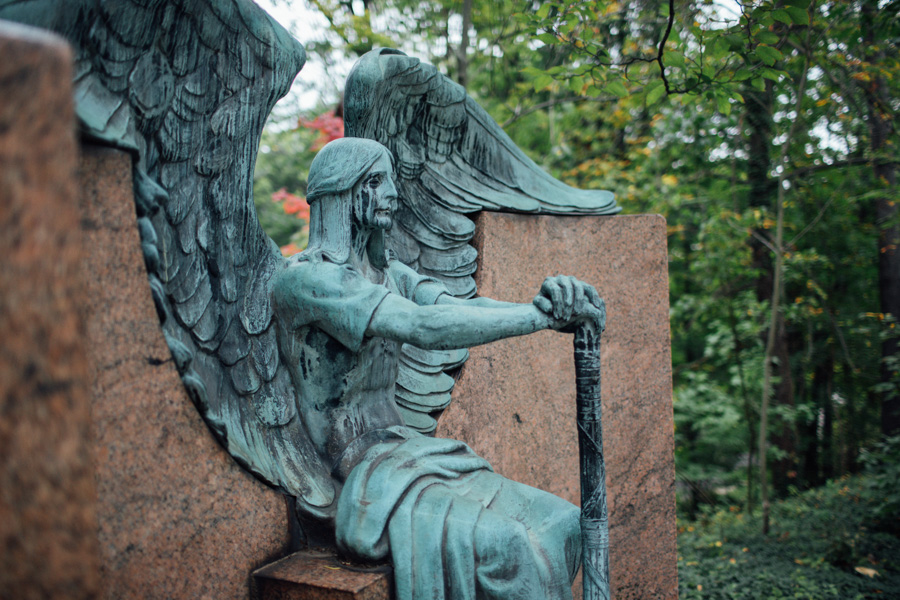 The Haserot Angel, Lake View Cemetery, Cleveland cemetery