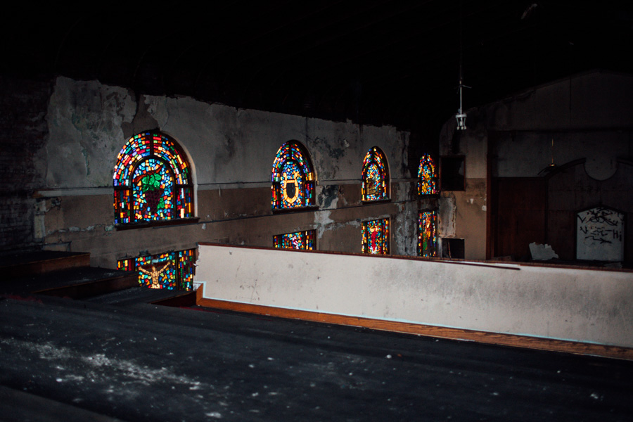 abandoned church in Ohio