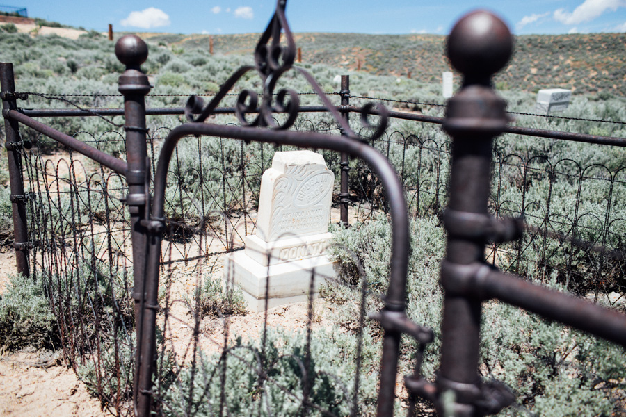 Mountain View Cemetery in Wyoming