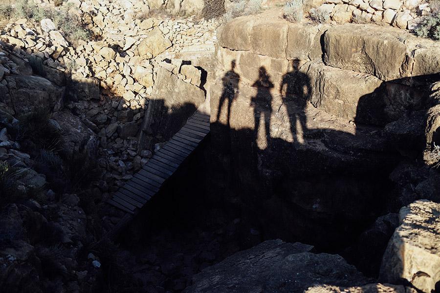 Apache Death Cave, Two Guns