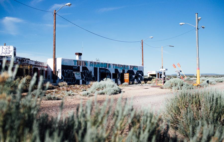 Twin Arrows Trading Post in Arizona. Old Rt 66