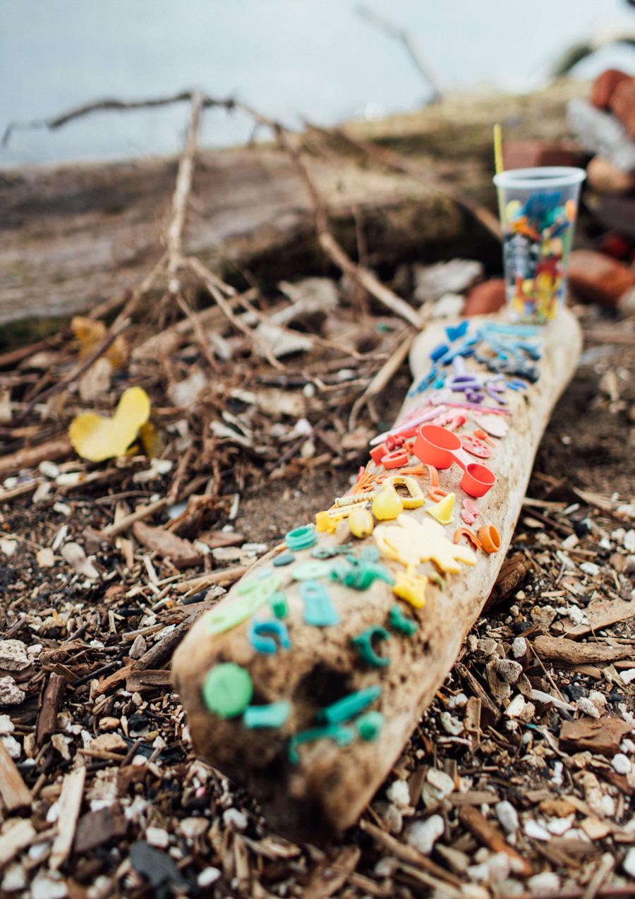 Lake Erie plastic pollution
