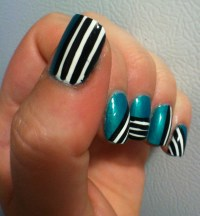Line Designs For Nails