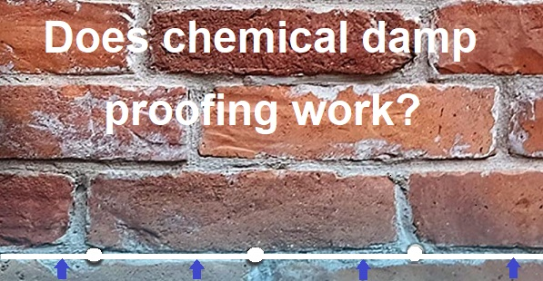 does chemical damp proofing work