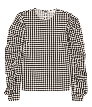 H&M Blouse with Studs