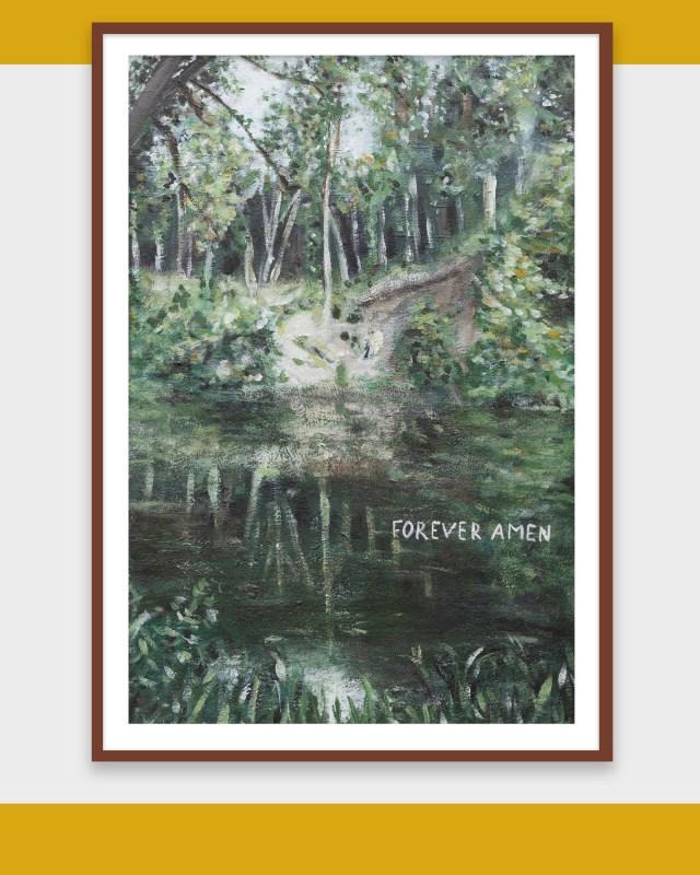 forever amen painting landscape Heelsum