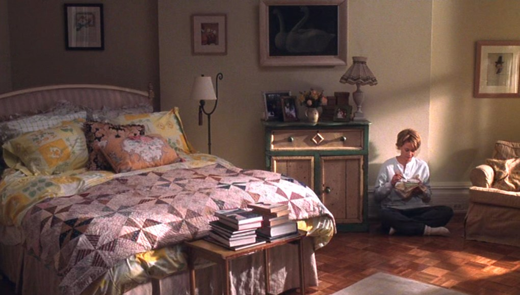 A still from the movie You've Got Mail - The interior of Kathleen Kelly's apartment