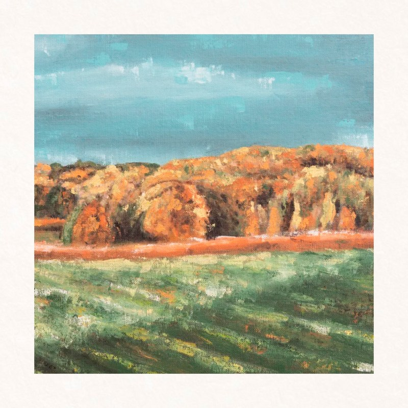 I'm so glad I live in a world where there are Octobers - From Anne of Green Gables - autumn painting