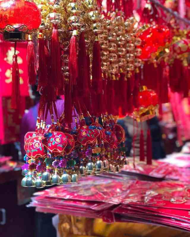 Pink Trinkets at a market I love in China