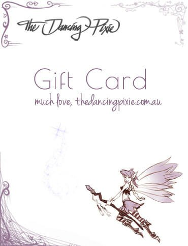 gift cards The Dancing Pixie homewares