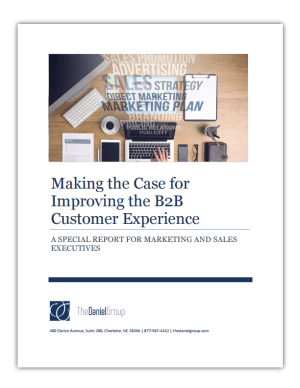 Marketing and Sales: The Case for Investing in Customer Experience