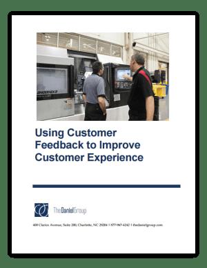 Using Customer Feedback to Improve Customer Experience