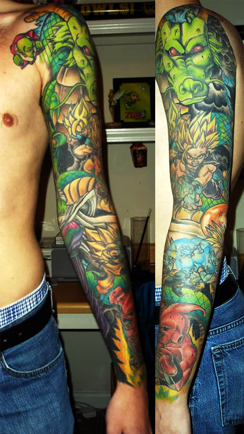 Dragon Ball Super Tattoo