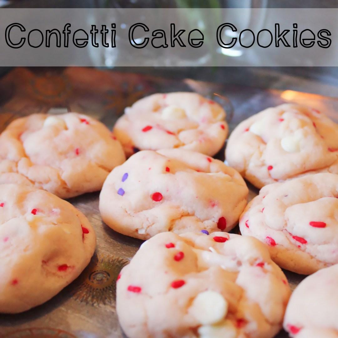 confetti cake cookies