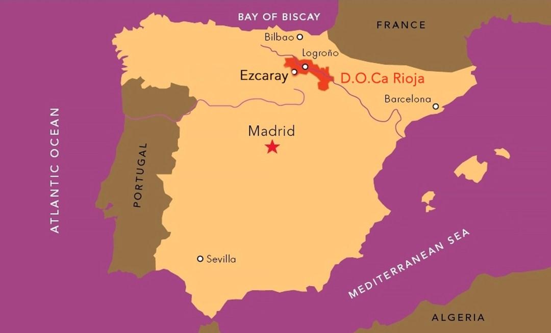 map rioja spain