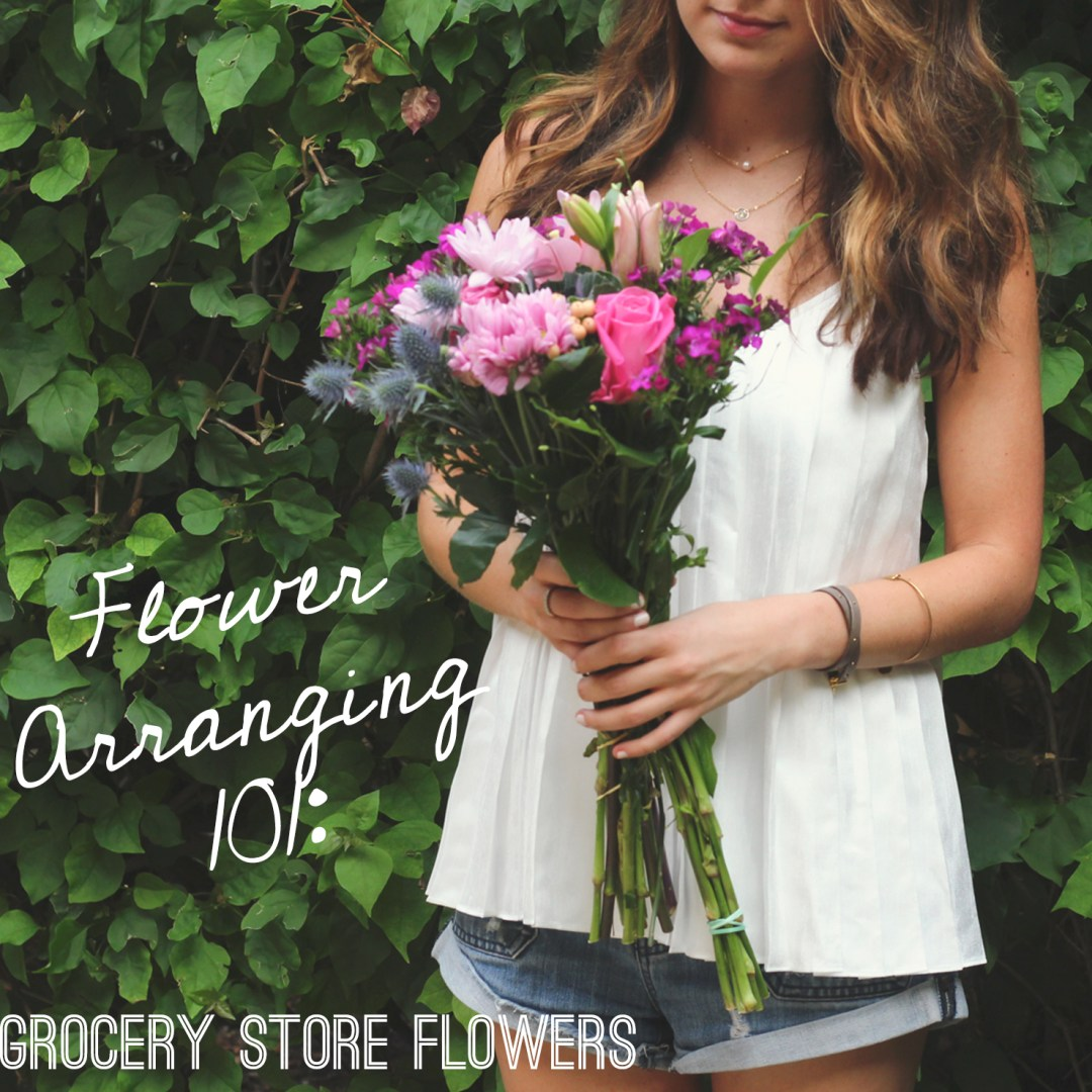 How to Spruce Up Grocery Store Flowers